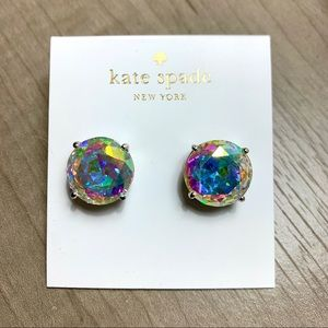 Kate Spade Holographic Stud Earrings